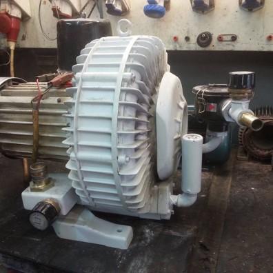 Περιέλιξη κινητήρα φυσητήρα vacuum 4,2kW
