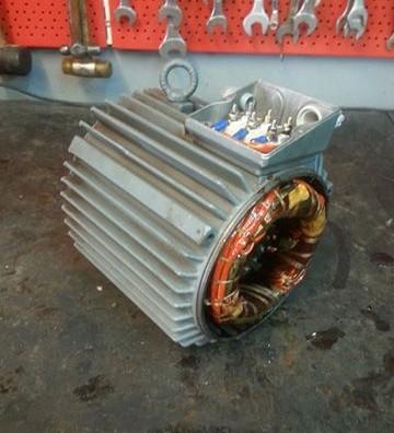 Περιέλιξη ηλεκτροκινητήρα 4kW