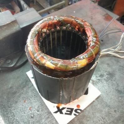 Περέλιξη ηλεκτρογεννήτριας 8kW